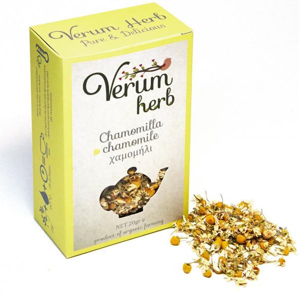 """Kamille """"Chamomili"""" 20g Pack - Verum Herbs"""