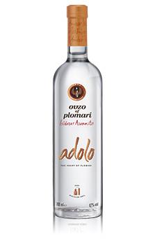 """Ouzo Plomari """"Adolo"""" 700ml - 42% Vol. Isidoros Arvanitis"""