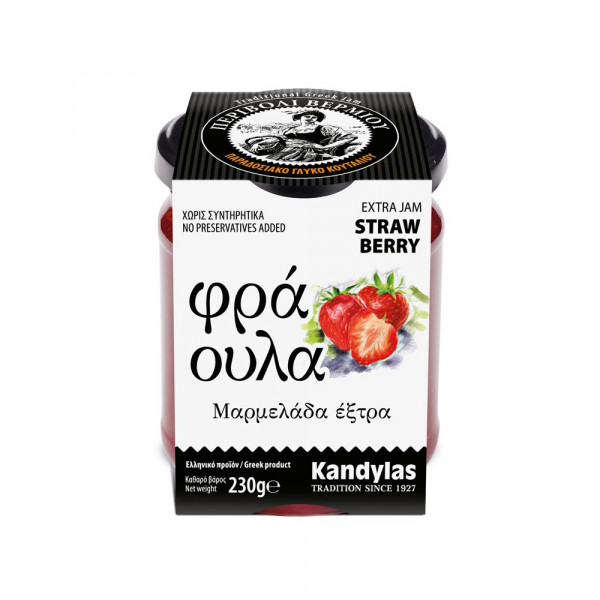 Marmelade Erdbeere 230g Kandylas