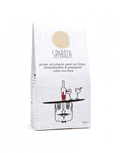 Gewürzmix aus Rotwein & Zitrusfrüchten Sparoza 33g Packung