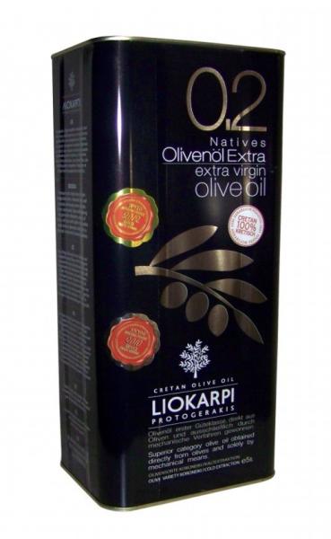 Olivenöl Liokarpi 5L Alu-Dose Protogerakis