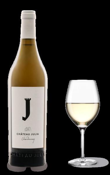 Chateau Julia Chardonnay Weiß trocken 750ml Costa Lararidi