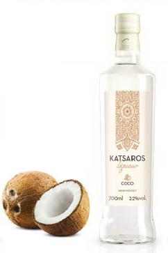 Kokosnuss Likör 700ml - 22% Vol. Nikolaos Katsaros