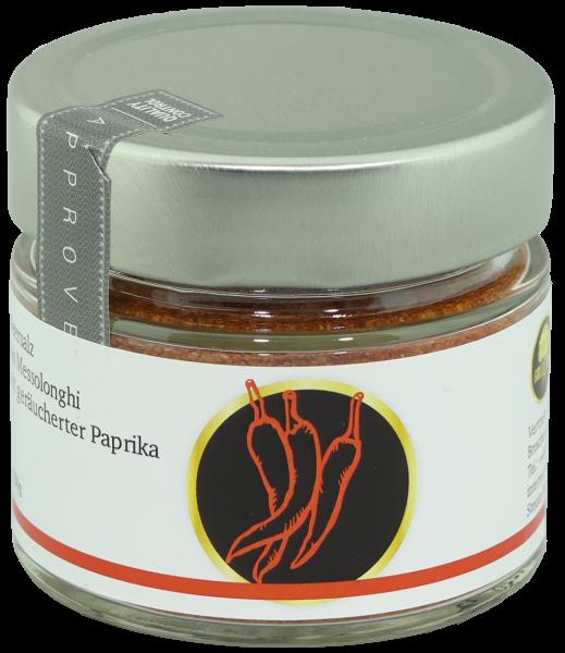 Meersalz mit geräucherter Paprika 150g Gold Tree