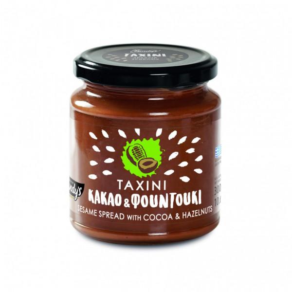 Tahini mit Kakao & Haselnuss 300g Kandylas
