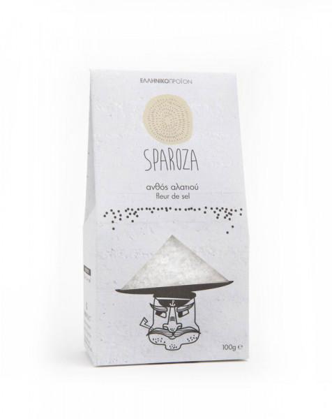 Fleur de Sel - Blume des Salzes Sparoza 100g Packung