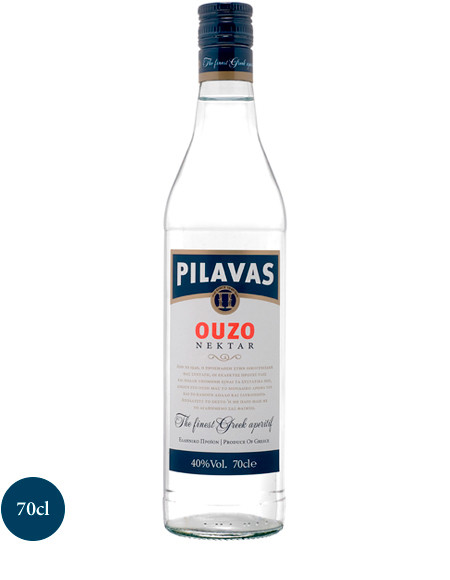 Ouzo Nektar 700ml - 40% Vol. Pilavas