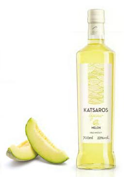 Melonen Likör 700ml - 22% Vol. Nikolaos Katsaros