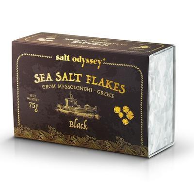 Salzflocken Black 75g Salt Odyssey