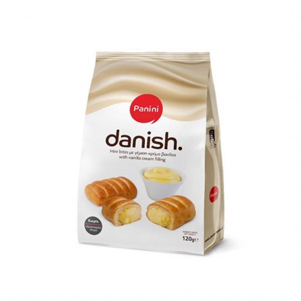 Danish Mini Bites Vanille 120g Panini