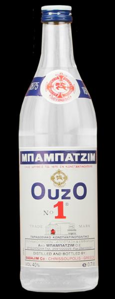 Ouzo Babatzim 700ml - 40% Vol.