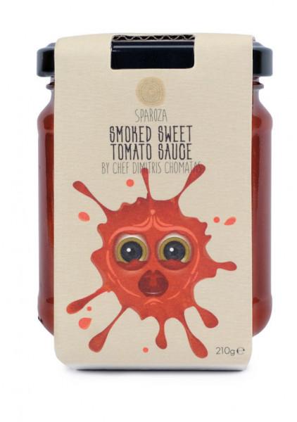 Tomaten Sauce süß & geräuchert Sparoza 210g Glas