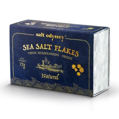 Salzflocken Natur 75g Salt Odyssey