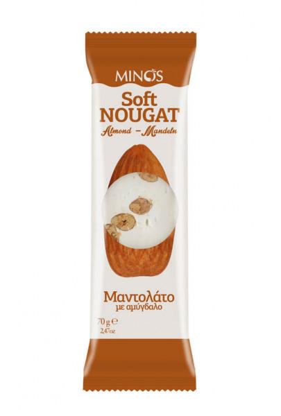 Soft Nougat mit Mandeln 70g Candia Nuts