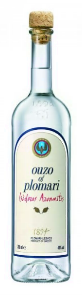 Ouzo Plomari 700ml - 40% Vol. Isidoros Arvanitis