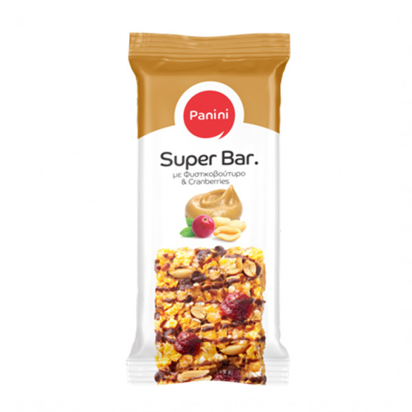 Super Bar Cranberries mit Haselnußbutter 70g Panini