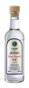 Ouzo Plomari 50ml - 40% Vol. Isidoros Arvanitis